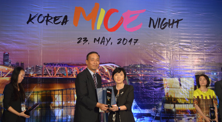 happy korea top incentive award